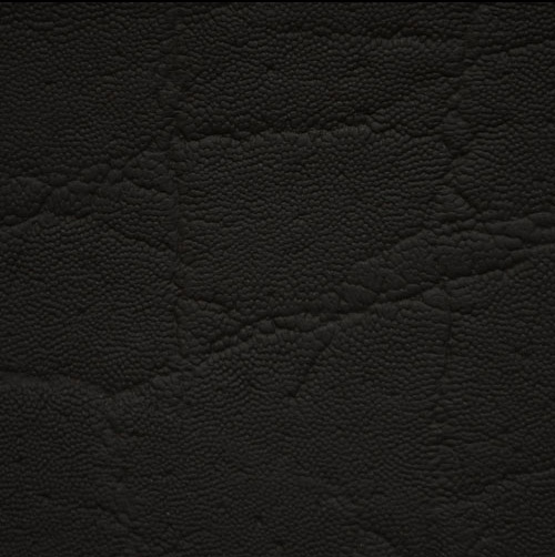 Black Dumbo / Elephant Exotic Textured Leather Hides for sale