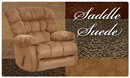 Suede from Exotic Leather, Goshen Indiana - Saddle Suede