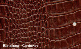 Exotic Barcelona Patent Embossed Leather for sale!